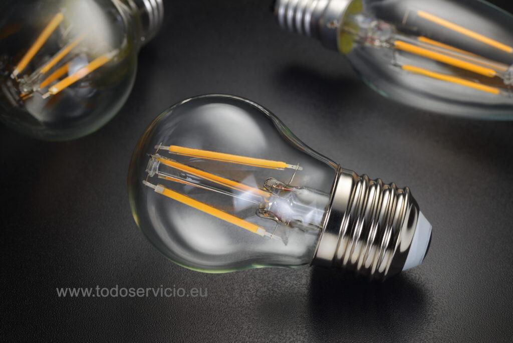 Más ahorro con iluminación Led, bombillas bajo consumo